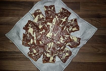 American Double Choc Brownies 62