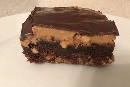 American Double Choc Brownies 74