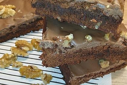 American Double Choc Brownies 75