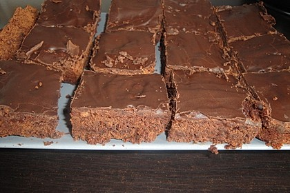 American Double Choc Brownies 146