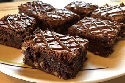 American Double Choc Brownies 1