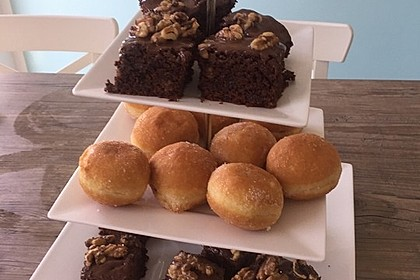American Double Choc Brownies 44