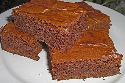 American Double Choc Brownies 17