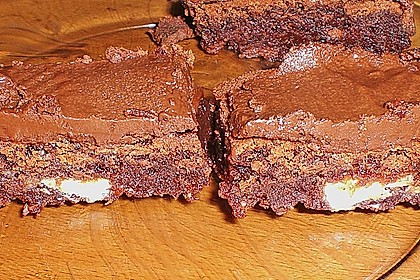 American Double Choc Brownies 156