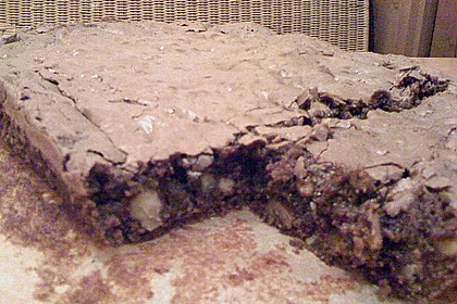 American Double Choc Brownies 197