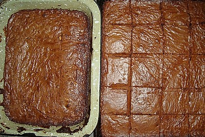 American Double Choc Brownies 174