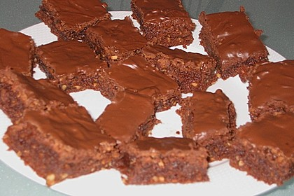 American Double Choc Brownies 157