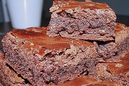 American Double Choc Brownies 46
