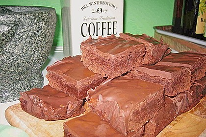 American Double Choc Brownies 8