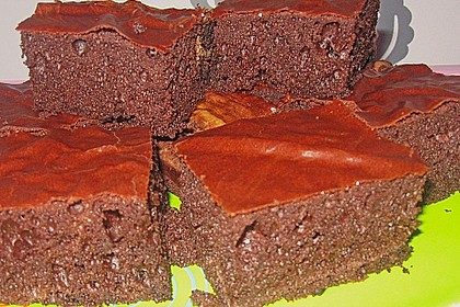 American Double Choc Brownies 90