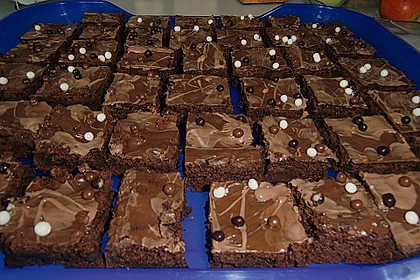 American Double Choc Brownies 21