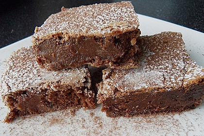 American Double Choc Brownies 22