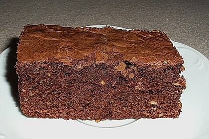 American Double Choc Brownies 33