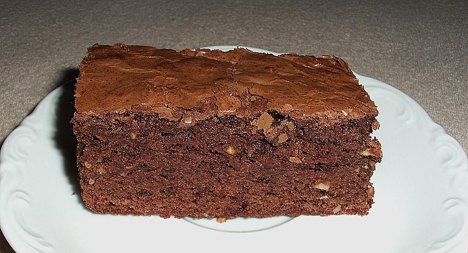 american double choc brownies rezept mit bild von dawomb. Black Bedroom Furniture Sets. Home Design Ideas