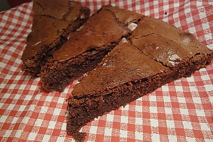 American Double Choc Brownies 38