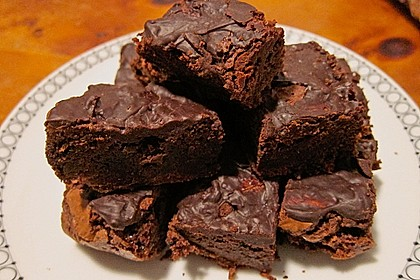 American Double Choc Brownies 84