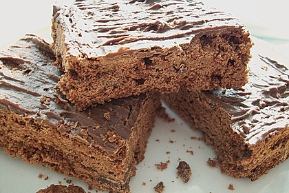 American Double Choc Brownies 52