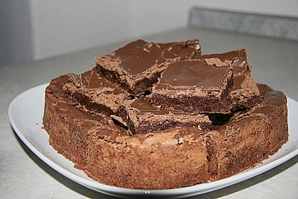 American Double Choc Brownies 34