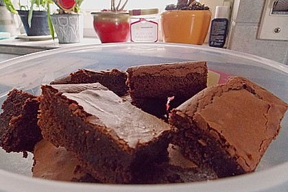 American Double Choc Brownies 124