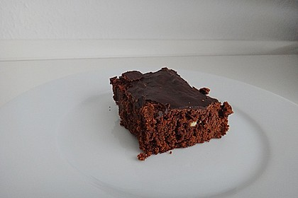 American Double Choc Brownies 66