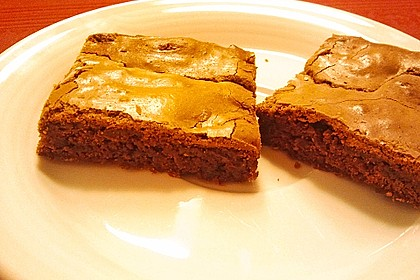 American Double Choc Brownies 153