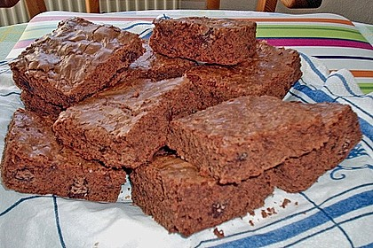 American Double Choc Brownies 116
