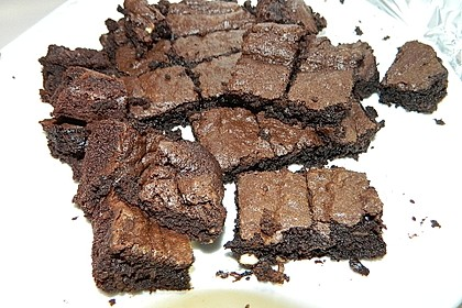 American Double Choc Brownies 127