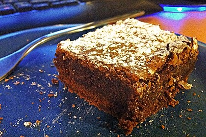 American Double Choc Brownies 64