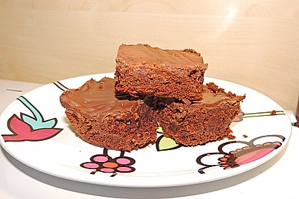American Double Choc Brownies 56
