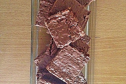 American Double Choc Brownies 105