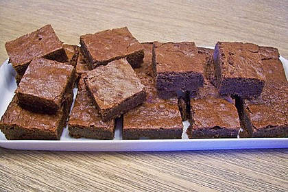 American Double Choc Brownies 30