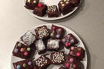 American Double Choc Brownies 44