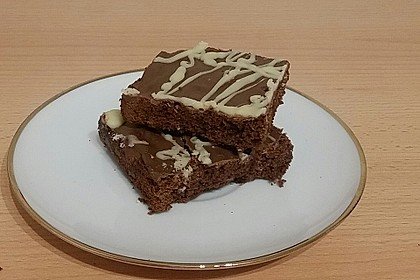 American Double Choc Brownies 54