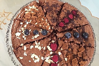 American Double Choc Brownies 69