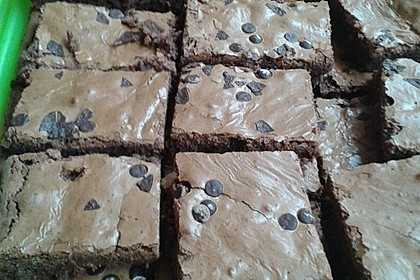 American Double Choc Brownies 200