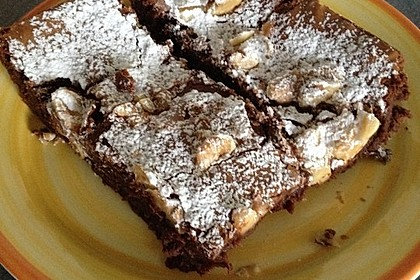 American Double Choc Brownies 204