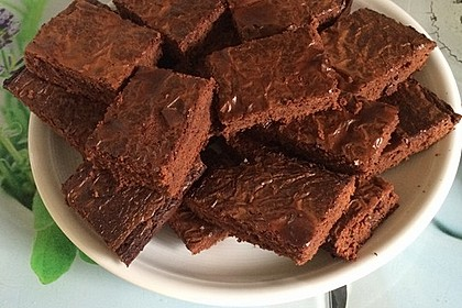 American Double Choc Brownies 141