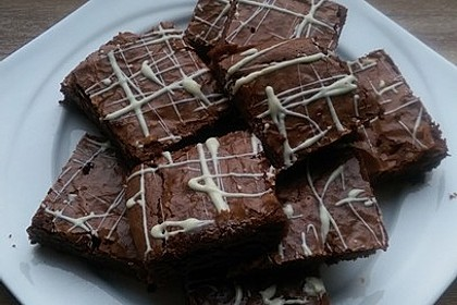 American Double Choc Brownies 138