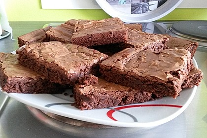 American Double Choc Brownies 147