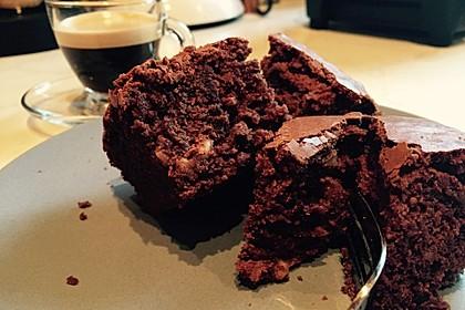 American Double Choc Brownies 15
