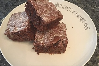 American Double Choc Brownies 136