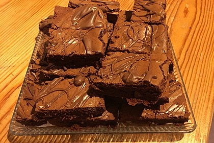 American Double Choc Brownies 114