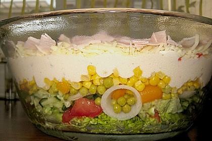 Sommer - Schichtsalat 2
