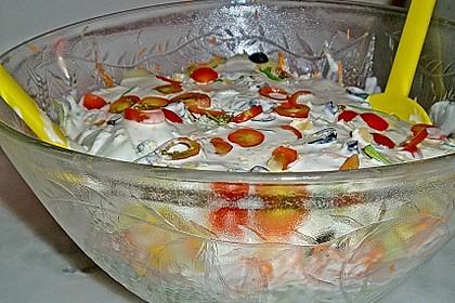 Sommer - Schichtsalat