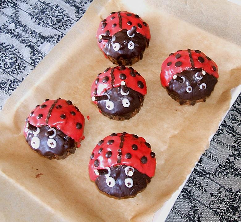 marienk fer muffins rezept mit bild von charima. Black Bedroom Furniture Sets. Home Design Ideas