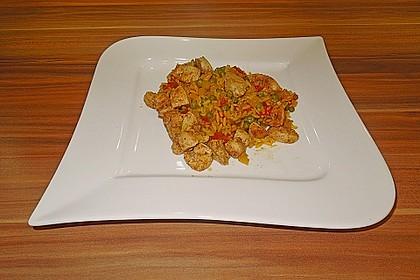 Hähnchen Paella 44