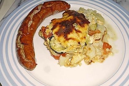 Kartoffel - Zucchini - Auflauf 3