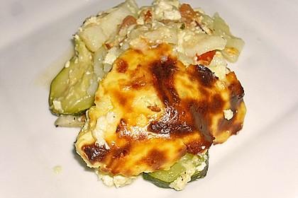 Kartoffel - Zucchini - Auflauf 2