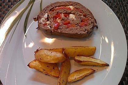 Mediterraner Hackbraten mit Oregano-Kartoffeln 18