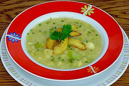 Apfel - Sellerie - Suppe